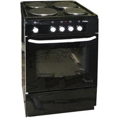 Электрическая плита Deluxe 5004.12 э черная фото
