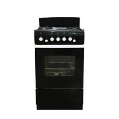 Газовая плита Deluxe 5040.36 гщ черный фото
