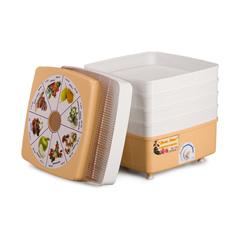 Электросушилка для овощей РОТОР Дива Люкс СШ - 010 с 5 решетами в цветной упаковке (квадратная) фото