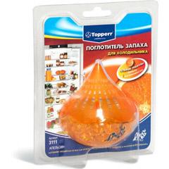 """Аксессуар Topperr 3111 Поглотитель запаха для холодильника гелевый """"Апельсин"""""""