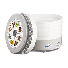 Электросушилка для овощей РОТОР Дива СШ-007 с 5 прозрачными решетками в цветной упаковке фото