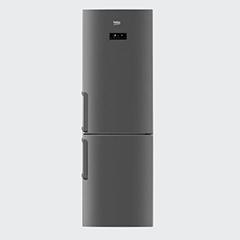 Двухкамерный холодильник Beko RCNK 321E21 X фото