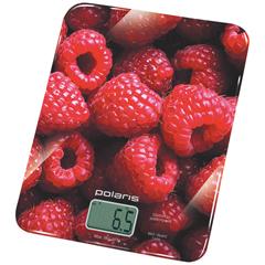 Весы кухонные Polaris PKS0832DG,Малиновый фото