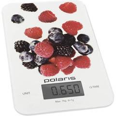 Весы кухонные Polaris PKS 0740DG Berries фото
