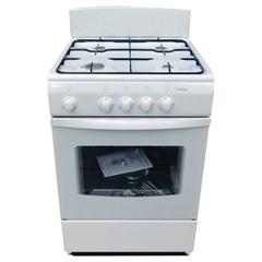 Газовая плита Deluxe 5040.38 гщ белый фото