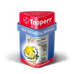 Аксессуар Topperr 3116 Поглотитель запаха для холодильника (лимон/уголь)