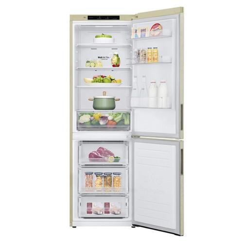 Двухкамерный холодильник LG GA B459CECL фото