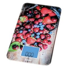 Весы кухонные BBK KS107G темно-синий/красный фото