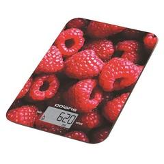 Весы кухонные Polaris PKS 1068DG Raspberry фото